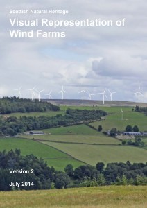 Visual Representation of Wind Farms - July 2014