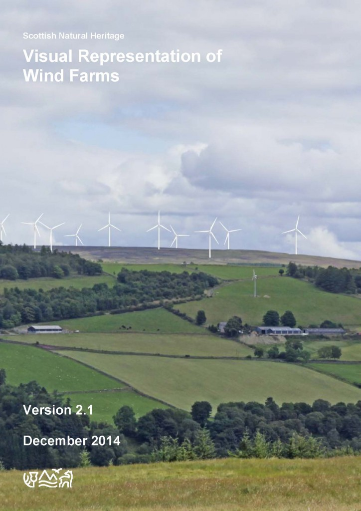 Visual representation of wind farms - version 2.1 - December 2014